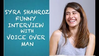 Video Syra Sheroz Funny Interview with Voice Over Man - EPISODE 15 MP3, 3GP, MP4, WEBM, AVI, FLV Mei 2018