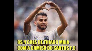 Thiago Maia e seus 4 gols com a camisa do SANTOS F.C Welcome lille.