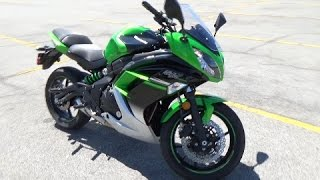 2. 2016 Kawasaki Ninja 650 Review  - Best Beginner Sportbike!?