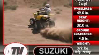 8. ATV Television Test - 2005 Suzuki LTZ400