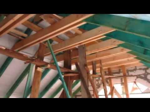 Строим мансарду своими руками на гараже