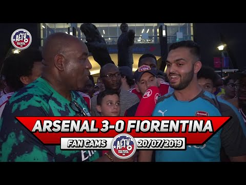 Arsenal 3-0 Fiorentina | Good Performance But Still The Same Old Errors In Defence!
