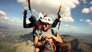 Voo duplo paraglider Mohamed - Governador Valadares-MG