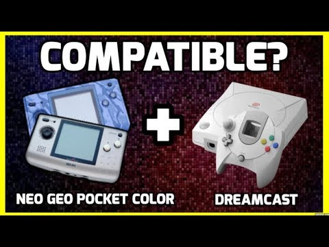 Neo Geo Pocket Color & Sega Dreamcast - Did You Know They Were Compatible!? - THGM