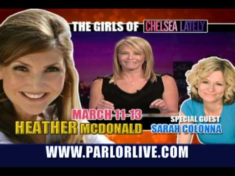 Parlor Live Comedy Club, Doug Benson, Heather McDonald, Jeff Garlin, and Rob Schneider