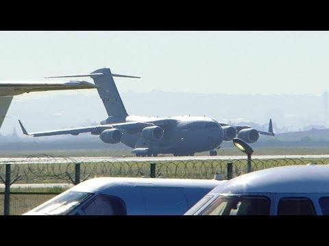USAF Boeing C-17 Globemaster III...