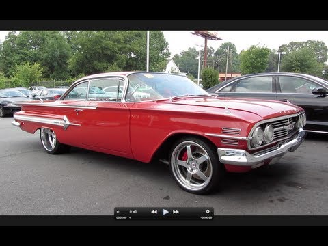 1960 Chevrolet Impala SS Start Up, Exhaust, and In Depth Tour