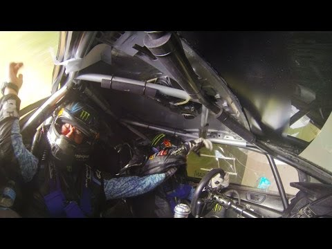Watch Ken Block's Insane Rally-Ending Roll Accident