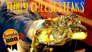 Philly Cheese Steak - Blackstone Griddle Recipe - How To Make Cheese Steak on a Flat Top Griddle
