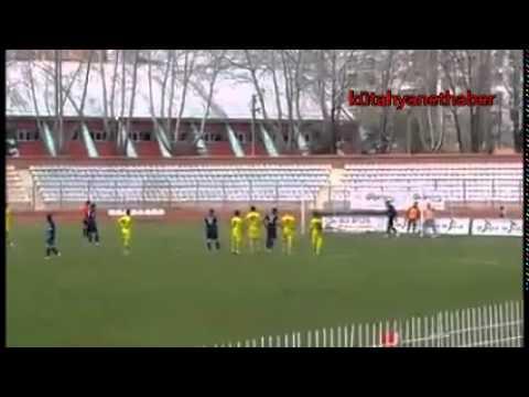 Kütahya Spor'un penaltı golü