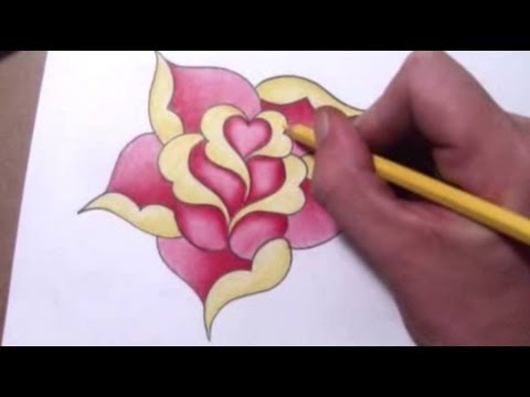 how to draw a graffiti heart