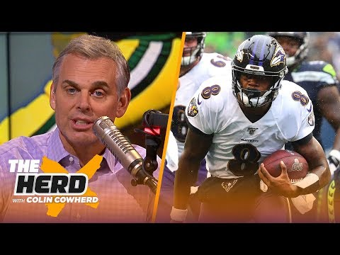 Colin Cowherd plays the 3-Word Game after NFL Week 7  NFL  THE HERD
