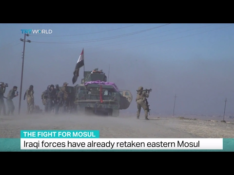 Video The Fight For Mosul: Iraqi forces move in on the city's airport download in MP3, 3GP, MP4, WEBM, AVI, FLV January 2017