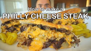 How to make a PHILLY CHEESE STEAK