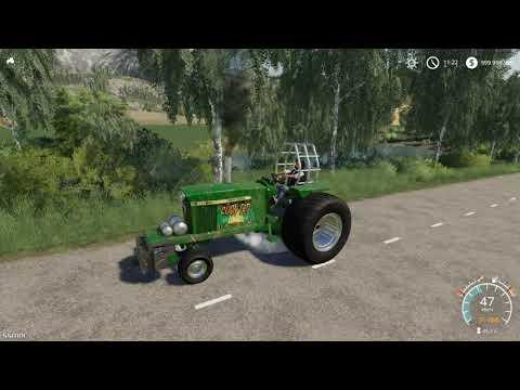 John Deere Pulling Tractor v1.0.0.0
