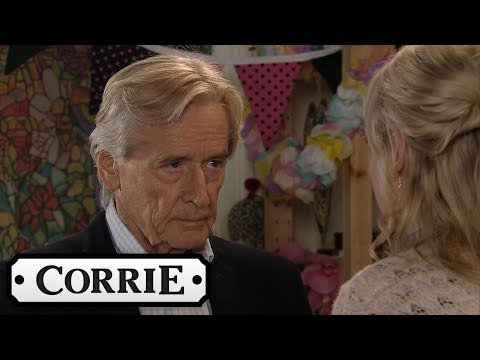 Coronation Street - Ken Agrees Not to Tell Daniel About Sinead's Cancer