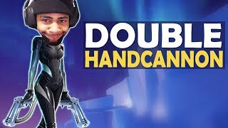 DOUBLE HANDCANNON | DEAGLE BOPPING BROTHERS | HIGH KILL FUNNY GAME - (Fortnite Battle Royale)