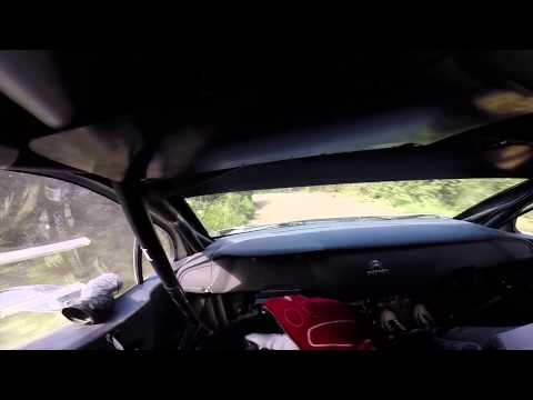 Citroen DS3 WRC Test Mads Ostberg - /DRIVER'S EYE