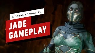 Mortal Kombat 11: Pro Jade Combo Gameplay with NetherRealm by IGN