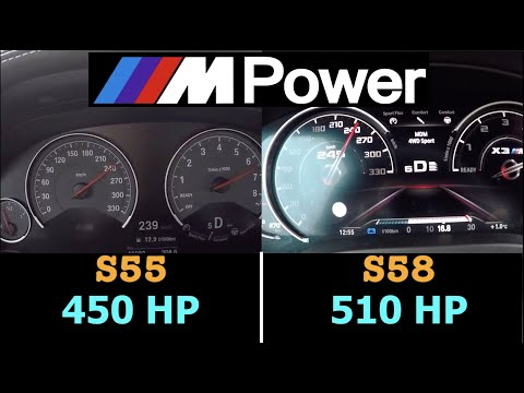 M Power Battle | 100 - 250 km/h | S55 450 HP vs S58 510 HP | M3 F80 Competition vs X3 M Competition