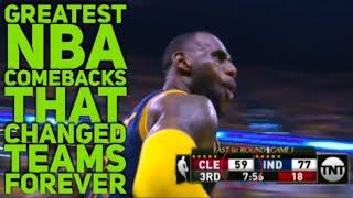 Video Greatest NBA Comebacks That Changed Teams Forever MP3, 3GP, MP4, WEBM, AVI, FLV Juni 2018