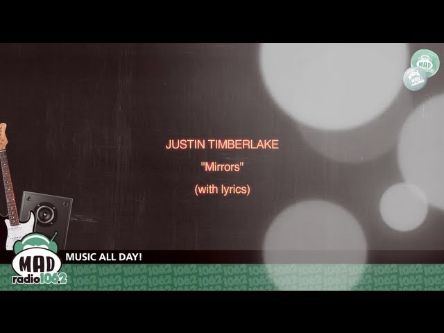 Justin timberlake mirrors with lyrics for Mirror mirror lyrics