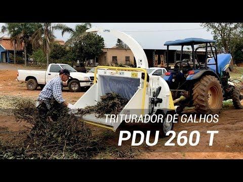 Triturador de Galhos Lippel PDU 260 T