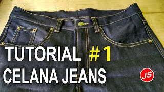 Video Tutorial Pola Celana Jeans # 1 MP3, 3GP, MP4, WEBM, AVI, FLV Desember 2018