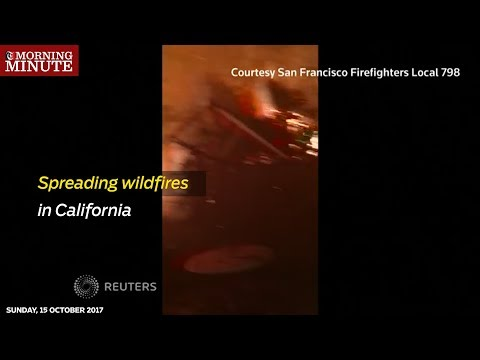 Firefighters are battling against one of the most lethal outbreaks of fire in US history.