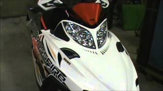 3. 2010 Arctic Cat Crossfire 800 Sno Pro.