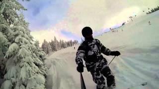 Hinterthal Austria  city photo : A Perfect Powder Day @ Ski Amadé in Hinterthal, Austria [NoAudio]