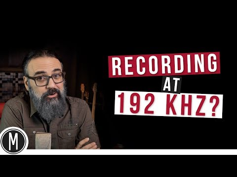 RECORDING AT 192kHz?- mixdown.online