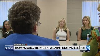 Hudsonville (MI) United States  city photos : Trump daughters visit Hudsonville in last-minute push through MI
