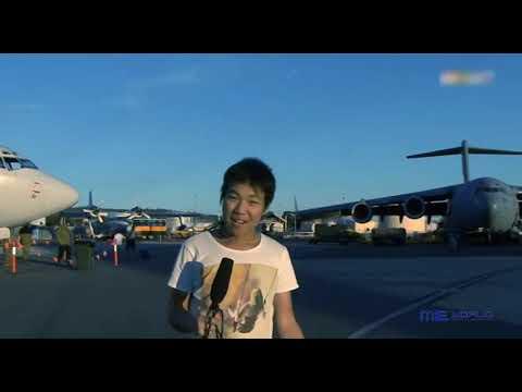 Triển lãm không quân Úc - The Defence Force Airshow - Thời lượng: 7 phút, 1 giây.