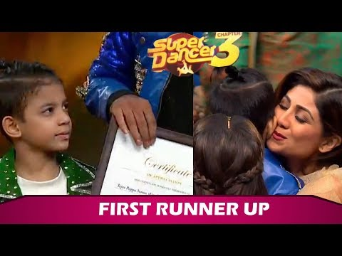 Tejas Verma Becomes Super Dancer Chapter 3 FIRST RUNNER UP | Sony TV