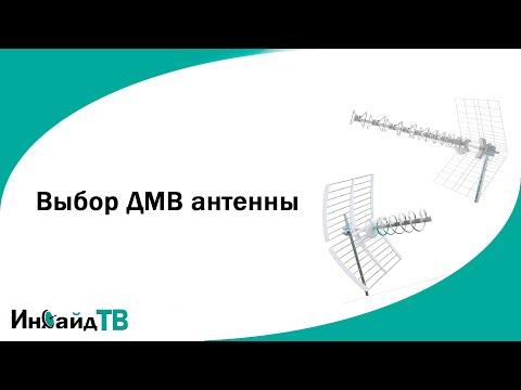 Выбор ДМВ (дециметровой) антенны. Карта покрытия РТРС.