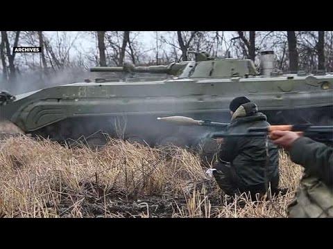 Αιματηρές μάχες στην ανατολική Ουκρανία