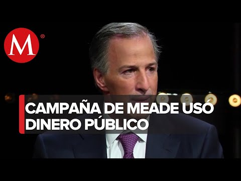 Campaña de Meade fue financiada con recursos públicos: abogado de Rosario Robles