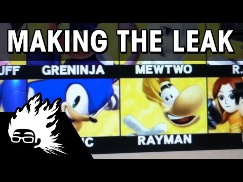 Rayman Smashified - Making the Leak