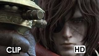 Capitan Harlock 3D Clip Ufficiale Italiana #3 'Harlock in azione' (2014) - Shinji Aramaki Movie HD