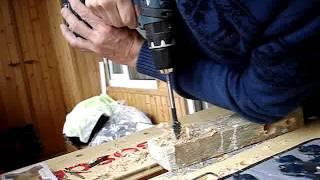 Видео 007 Тестирование дома брус