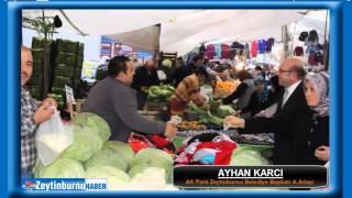 Ayhan Karcı'yı Zeytinburnu Halkı bağrına bastı