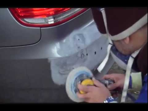 how to repair and paint a car