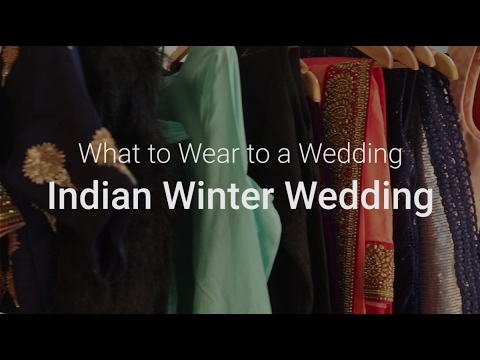 What to wear to a Wedding - Winter Wedding