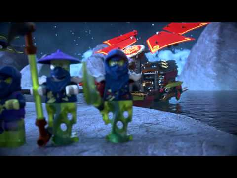 Новинка Lego Ninjago. Лего Нинзяго Корабль Дар судьбы - Решающая битва