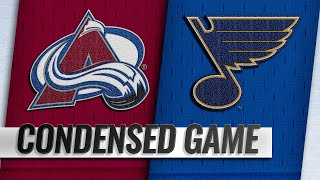 12/14/18 Condensed Game: Avalanche @ Blues by NHL