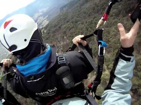 Paragliding with Daniel
