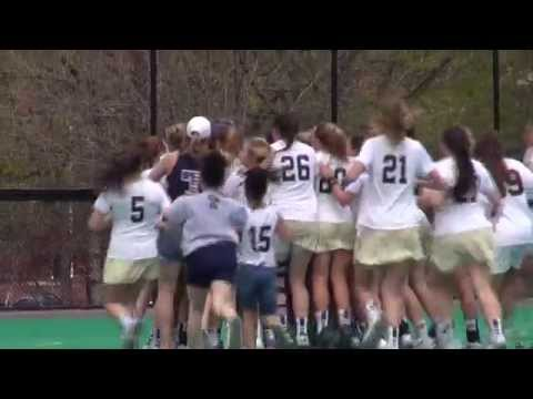 Trinity Women's Lacrosse Wins 2015 NESCAC Championship