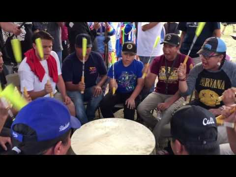BlackStone Singers at San Manuel 2016 Pow Wow