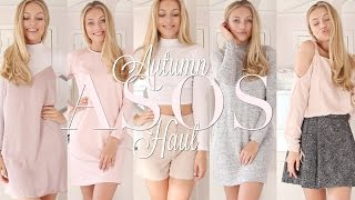 Hope you enjoy my autumn winter asos unboxing and try on haul! Don't forget to subscribe! Links to clothes down below!